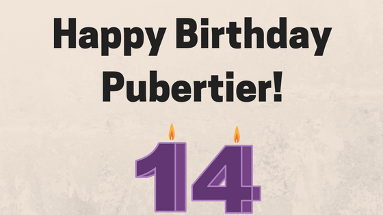 Happy BirthdayPubertier!