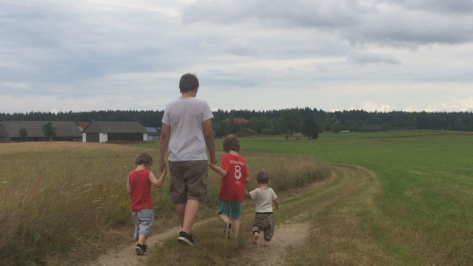 Leben mit kindern auf chaoshoch6 hier dreht sich alles for Minimalistisch leben mit kindern