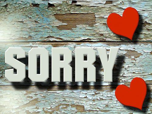 ehekrise entschuldigen