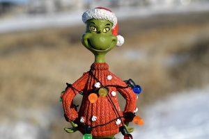 Weihnachten mit einem Grinch
