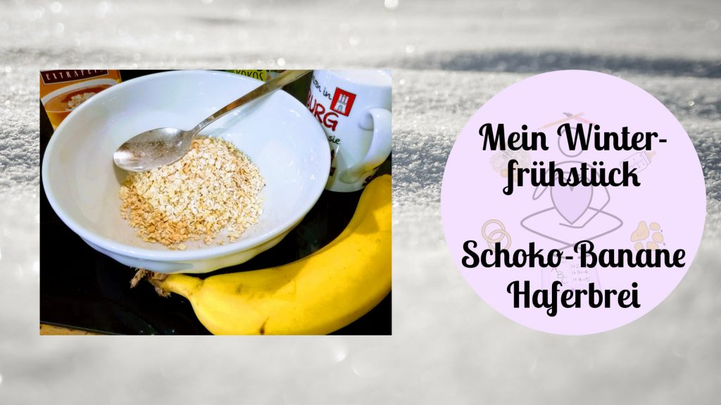 Schoko-Banane-Haferbrei