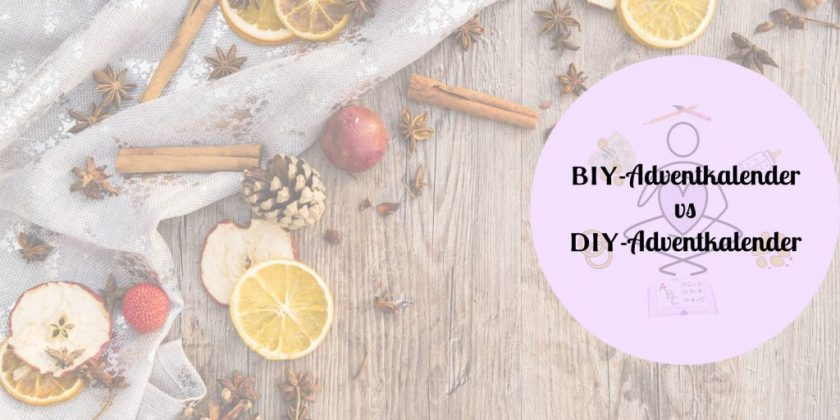 BIY-Adventkalender DIY-Adventkalender
