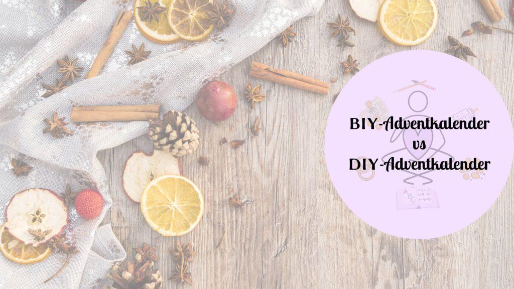 BIY-Adventkalender DIY-Adventkalender