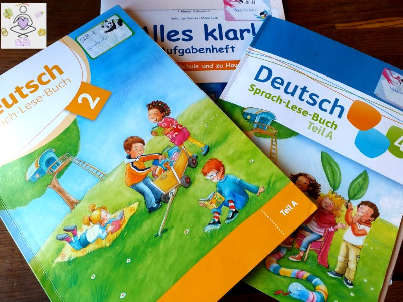 Hausunterricht Schulbücher
